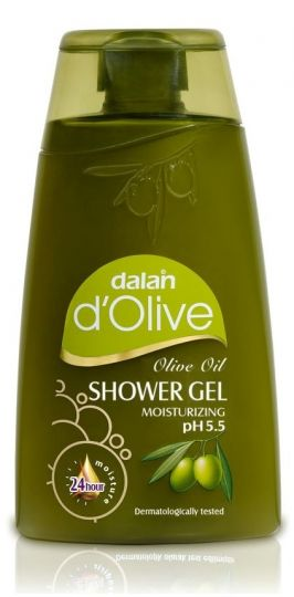 D'Olive Olive Oil Shower Gel 250ml