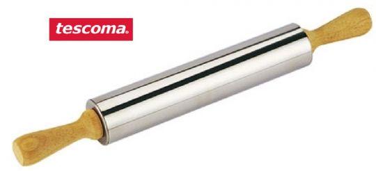 TESCOMA Скалка DELICIA нержавеющая сталь 25 см d 5 см 630170