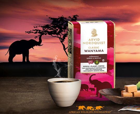 Arvid Nordquist Classic WANYAMA кофе молотый