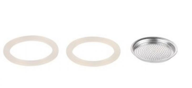 Tescoma Фильтр и 2 силиконовые прокладки для кофеварки PALOMA, 6 чашек 64700604