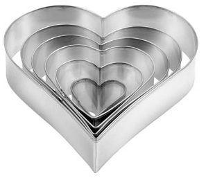 Tescoma Формочки - сердца DELICIA 6 шт 631362