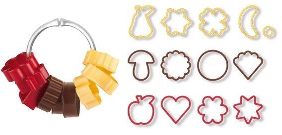 Tescoma Формочки для печенья традиционные DELICIA, 13 шт. 630900