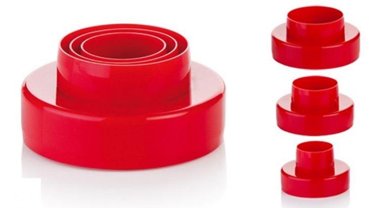 Tescoma Двухсторонние формочки колечки DELICIA, 6 размеров 630860
