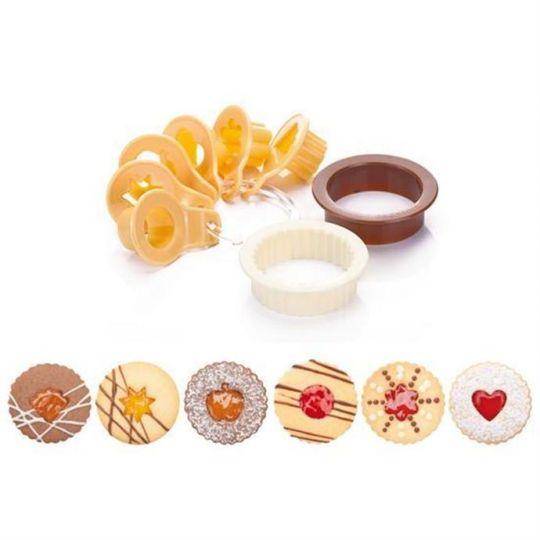 TESCOMA Формочки для традиционного песочного печенья DELICIA 8 шт 630910