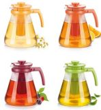 Стеклянный чайник TEO TONE 1,7 л, с ситечками для заваривания  646625Стеклянный чайник TEO TONE 1,25 л, с ситечками для заваривания  646623