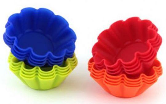 Формочки силиконовые ромашки 8 шт