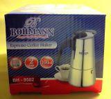 BOHMANN Кофеварка гейзерная на 2 чашки BH 9502