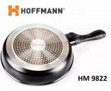 Сковорода с мраморным покрытием + крышка 22 см HOFFMANN HM 9822