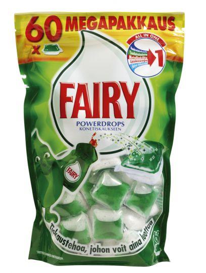 Fairy Professional All in One Lemon/Original таблетки для посудомоечной машины