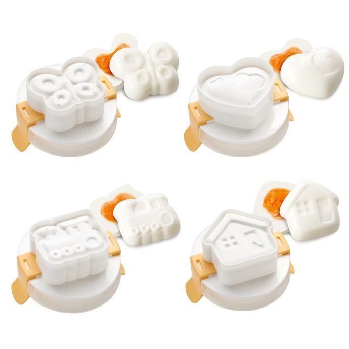 Формочки для придания яйцу формы PRESTO 4 шт 420658